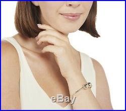 14K Yellow Gold Eternagold Round Bead Cuff Bangle Bracelet