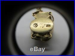 14k Slide Bracelet Starter With Sapphire Pearl Clasp 7.5 Richard Glatter