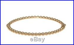 18K Rose Gold Van Cleef & Arpels Perlée Pearls Of Gold Bracelet Small B & P