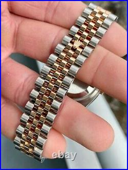 2014 Rolex Datejust 116231 Two Tone 36mm Diamond Mother of Pearl with Box & Papers