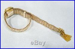 Antique Victorian Gold Filled Exquisite Seed Pearl Heavy Slide Tassel Bracelet