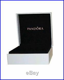Authentic Pandora Silver Charm Bracelet ROSE GOLD LOVE HEART European BeadsNIB