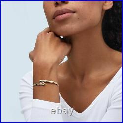 Bead Flexible Bangle Bracelet in 14K Gold, 6.5