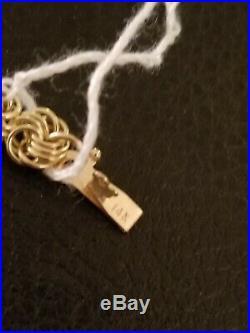 Beautiful 14 K Yellow Gold Bracelet. 7 Inches