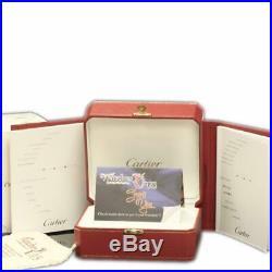 Cartier Ballon Bleu W2BB0011 36mm Steel Gold MOP 2015 Box/Paper/Warranty #331-2