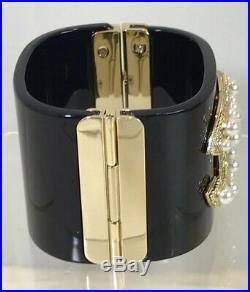 Chanel Pearl Cuff Bracelet
