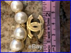 Chanel bracelet pearl