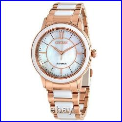 Citizen EM0743-55D Women's Chandler White Mother of Pearl Eco-drive Watch