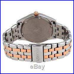 Citizen Eco-Drive Corso Women's Rose Gold Accents 36mm Watch EV1036-51Y