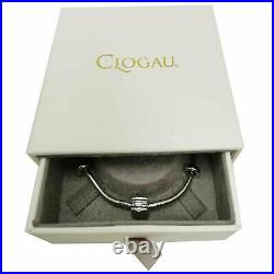 Clogau Bracelet Rose Gold Silver Welsh Barrel Milestone Bead Charm 40 OFF NEW