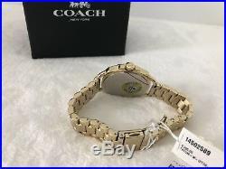 Coach Women's Tatum Gold-Tone Stainless Steel Bracelet Watch 34mm 14502589