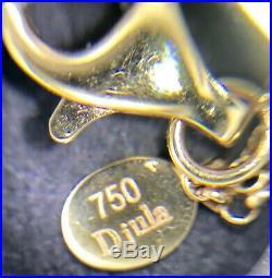 Djula Paris Diamond and Mother of Pearl 18k Rose Gold Bracelet