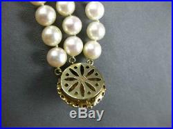 Estate Large 1.80ct Aaa Ruby & South Sea Pearl 14kt Yellow Gold Flower Bracelet
