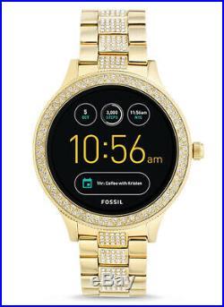 Fossil Gen 3 Smartwatch Q Venture Gold-Tone Stainless Steel FTW6001 8807
