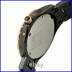 Guess Collection GC Women's Sport XL-S Mother-of-Pearl Ceramic Rose Gold Watch