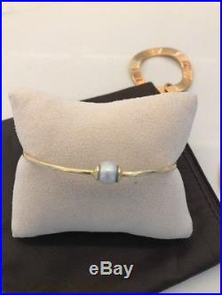 IPPOLITA 18K Yellow Gold Bangles with Pearls-Set 3-Beautiful