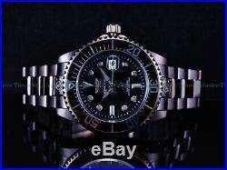 Invicta 300m Men's Grand Diver BlackOp's Combat Triple Black Automatic SS Watch