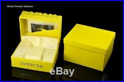Invicta 47mm Grand Diver AUTOMATIC White M. O. P Dial Two Tone Gold Bracelet Watch