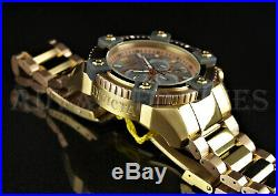Invicta 63mm Reserve JT GRAND OCTANE Ltd. Ed MOP SWISS Chrono Rose Gold TT Watch