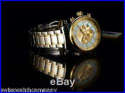 Invicta II Men Specialty Collection Swiss Ronda Chrono White MOP 18KGIP 2T Watch