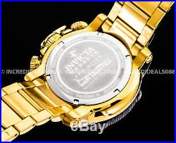 Invicta Men Reserve Sea Hunter Propeller Swiss Chronograph 18Kt Gold MOP Watch
