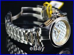 Invicta Men's 50mm Bolt Zeus Automatic Fish Scale MOP Dial 18KGP Cables SS Watch