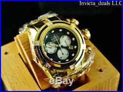 Invicta Men's 52mm Bolt Zeus Swiss Chronograph MOP Dial High Polished SS Watch