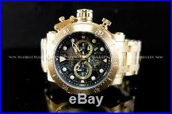 Invicta Men's 52mm Coalition Forces Abalone Dial 24K Gold Tone Chrono SS Watch