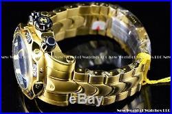 Invicta Mens 52mm Reserve Venom Gen III Swiss Mvt Black 24K Gold Plated SS Watch