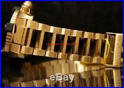 Invicta Mens Reserve Arsenal 63MM Grand Octane MOP Dial Gold-Tone Bracelet Watch
