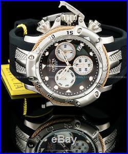 Invicta Mens Subaqua Poseidon Swiss Ronda Z60 Chronograph MOP Rope Design Watch