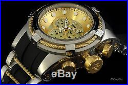 Invicta Reserve Bolt Zeus Chronograph Mother-of-Pearl Dial Bracelet Watch 0828