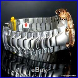 Invicta Reserve Thunderbolt Black MOP Chronograph Steel 56mm Swiss Mvt Watch New