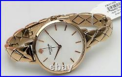 Kate Spade Metro Watch KSW1466 Mother of Pearl Dial Rose Gold Bracelet $250 NEW