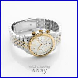 MICHAEL KORS Lexington MK5955 Mother Of Pearl Dial Lady's Watch Genuine