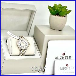 MICHELE Serein Diamond Two Tone Mother of Pearl Women's Watch MWW21B000032 $2395