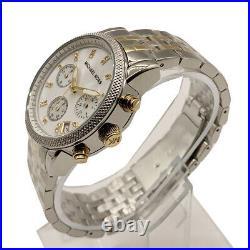 Michael Kors MK5057 Ritz Two Tone Bracelet Mother of Pearl Dial Ladies Watch