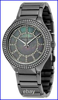 Michael Kors Women's MK3410 Kerry Stainless Steel Mother Of Pearl Dial Watch