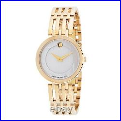 Movado 0607054 Women's Esperanza White Mother of Pearl Quartz Watch