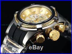 NEW Invicta Reserve 52mm Bolt Zeus Swiss Chronograph Seashell MOP Dial SS Watch