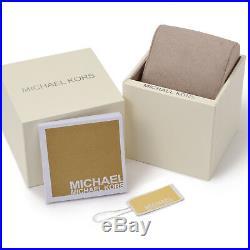 NEW MICHAEL KORS MK3639 Portia Gold Tone Crystal Pave Ladies Wrist Watch
