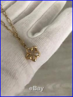 Na Hoku 14k Gold Hawaiian Plumeria Ankle Bracelet. Anklet