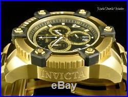 New Invicta Reserve 63mm Grand Octane Swiss Quartz 18K GoldPlated Bracelet Watch