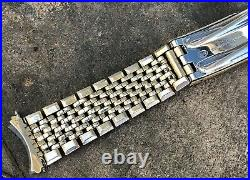 Omega 14k Gold Filled Rice Bead Bracelet with 570 Endlinks ORIGINAL