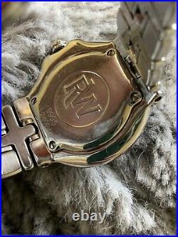 Raymond Weil WOMENS Watch PARSIFAL diamond bezel quartz Stainless Steel 9995