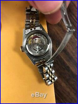Rolex 69173 Ladies Oyster Datejust Perpetual Watch Mother Of Pearl