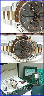 Rolex Cosmograph Daytona 116503 Steel & Yellow Gold Slate Dial 40mm Watch