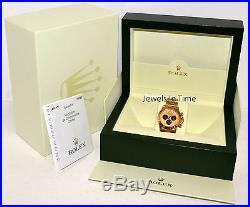 Rolex Daytona 18k Gold Chronograph Paul Newman Dial Watch Box/Papers 116528