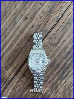 Rolex Lady Datejust 79174 Mother of Pearl and Diamond dial aftermarket