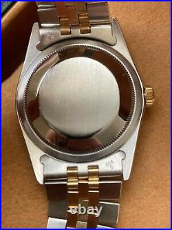 Rolex Mother of Pearl Datejust 36mm with Jubilee Bracelet and Diamond Markers